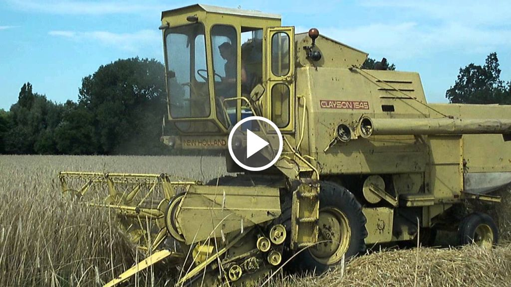 Video New Holland Clayson 1545