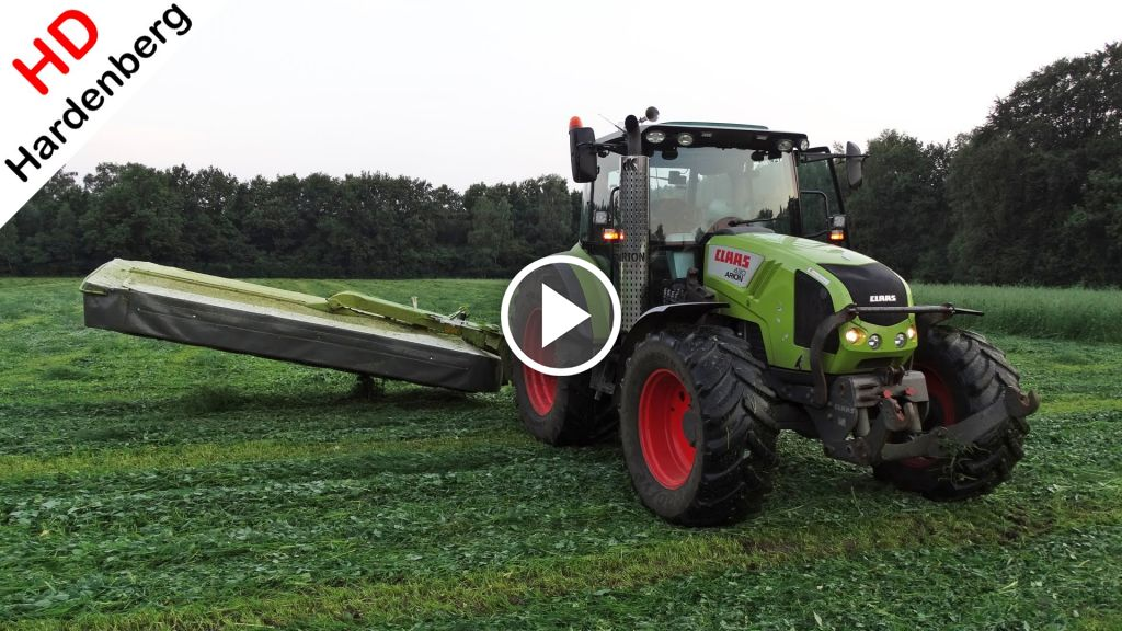 Video Claas Arion 430