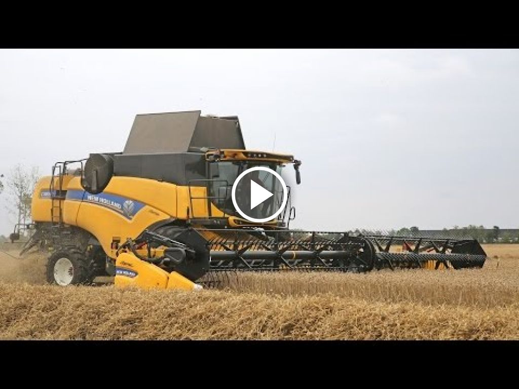 Video New Holland CR 8.80