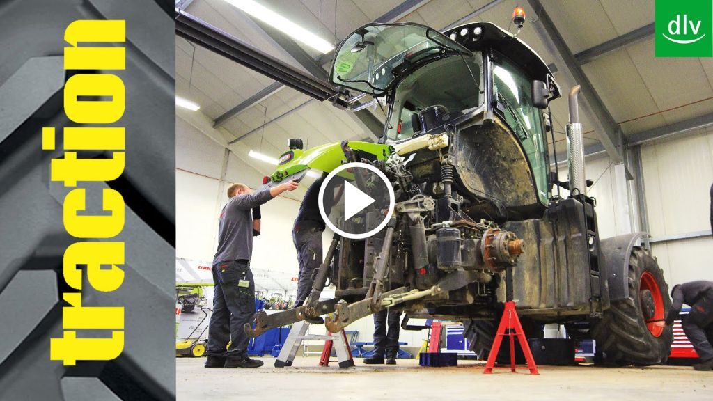 Video Claas Axion 920