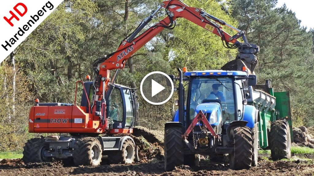 Video New Holland T 6020 Elite