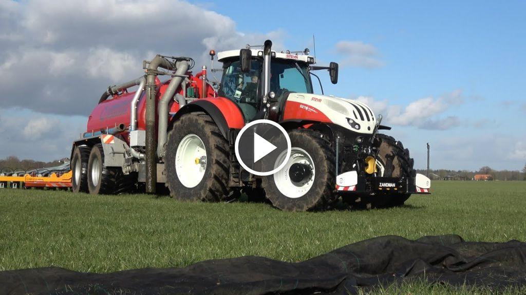 Videó Steyr Terrus 6270