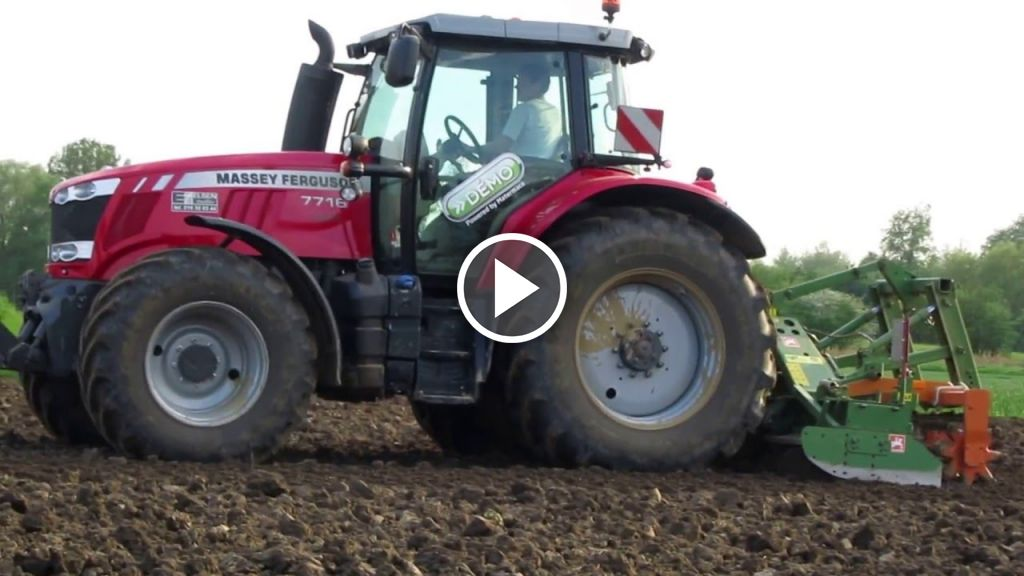 Vidéo Massey Ferguson 7716