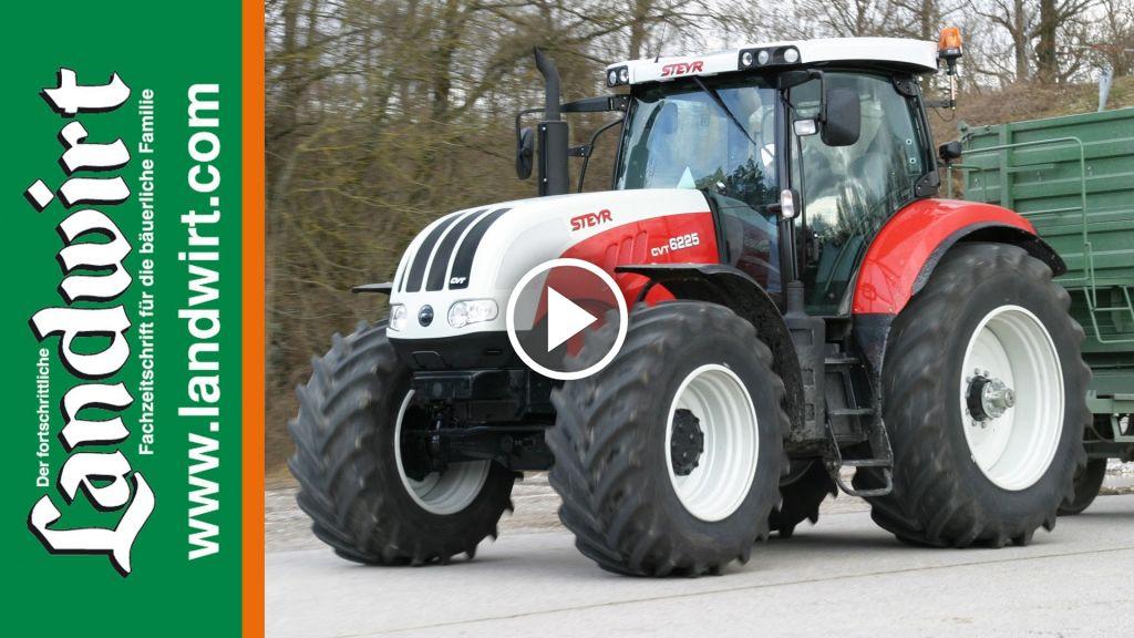 Videó Steyr CVT 6200