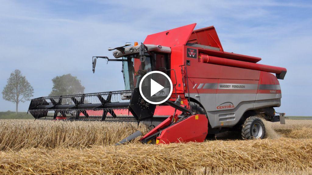 Vidéo Massey Ferguson 7282 Centora