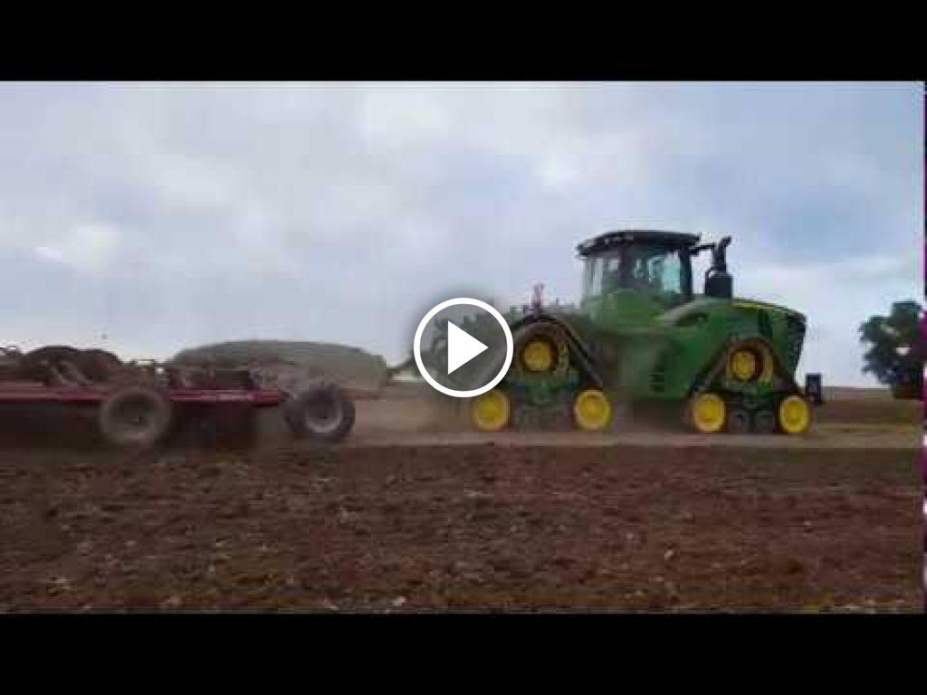 Wideo John Deere 9520