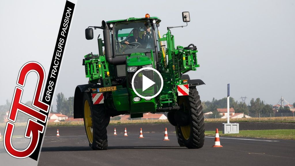 Video John Deere R4040i