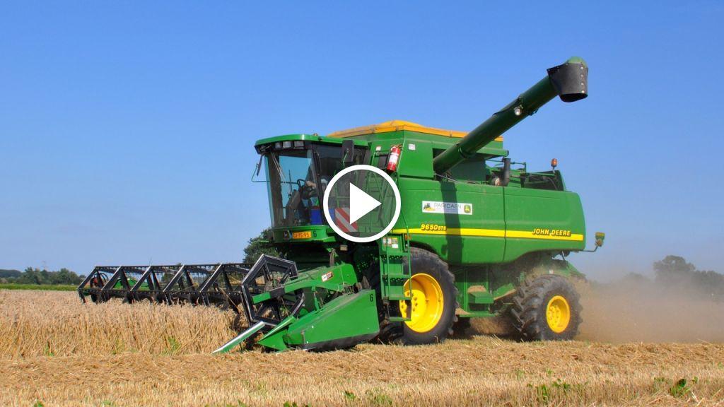 Wideo John Deere 9650STS