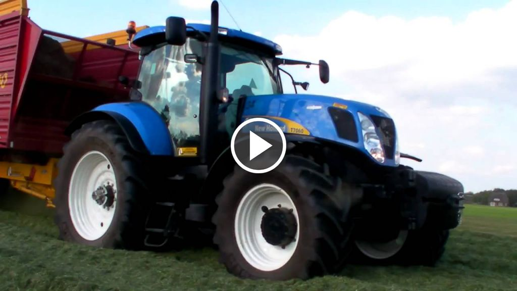 Video New Holland T 7060