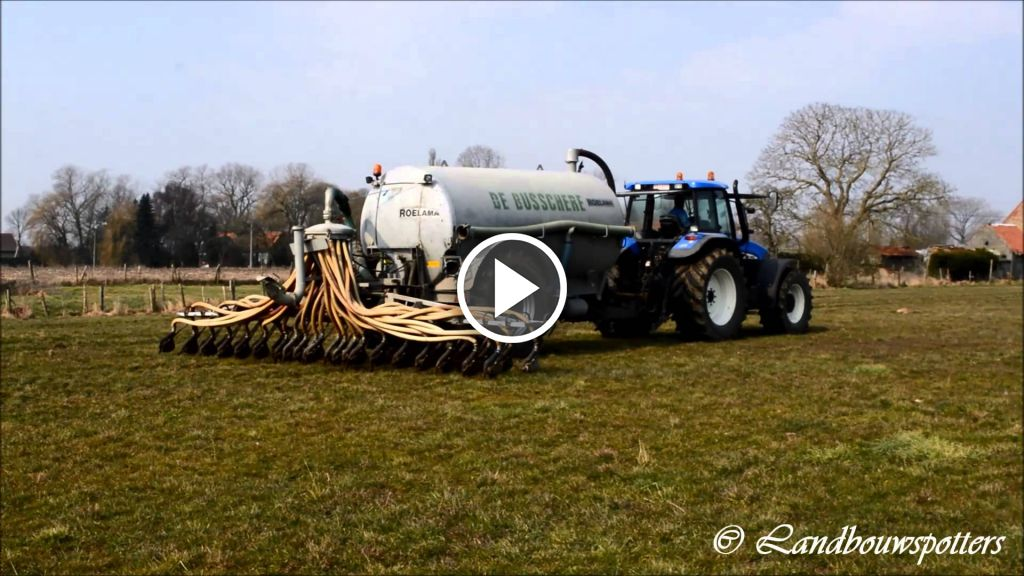 Video New Holland TM 155