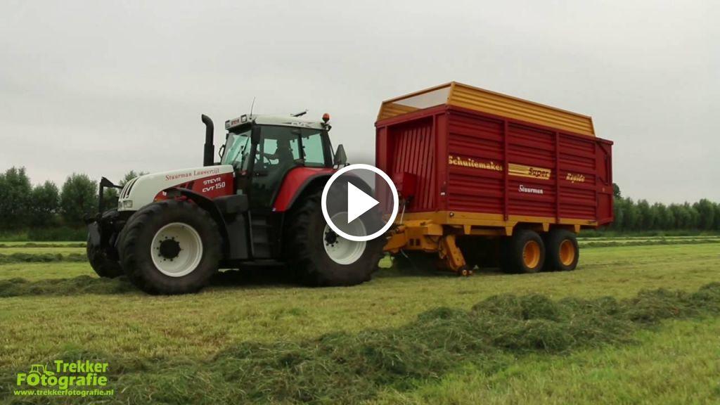 Videó Steyr CVT 150