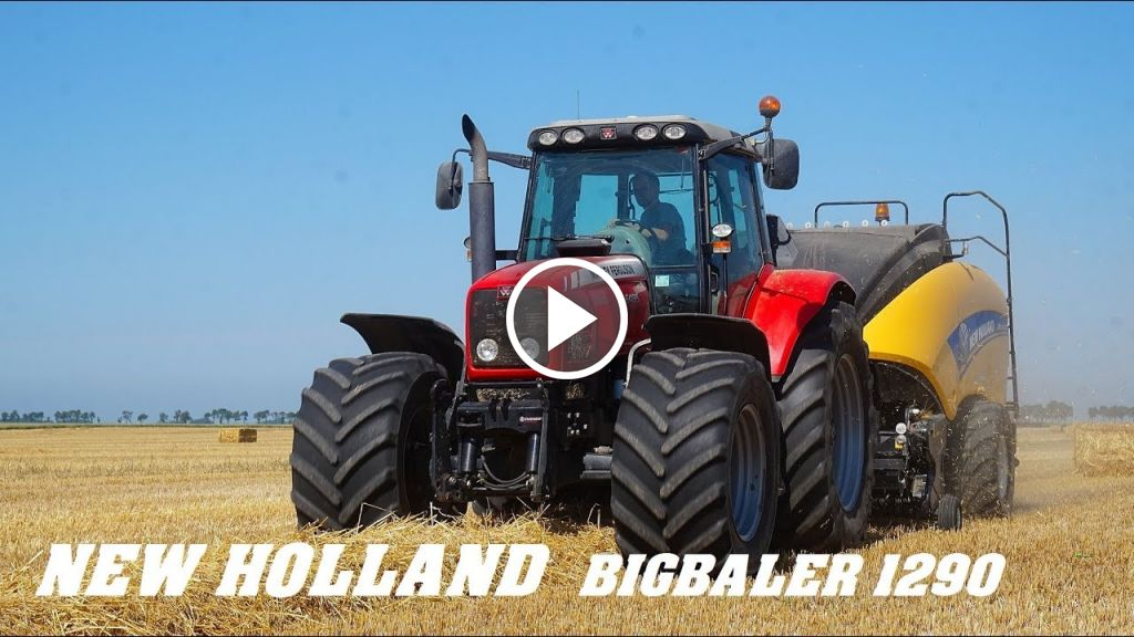 Video New Holland Bigbaler 1290