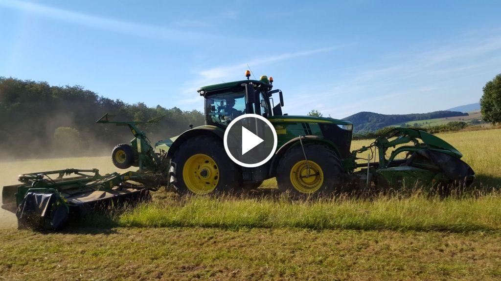 Wideo John Deere 7270R