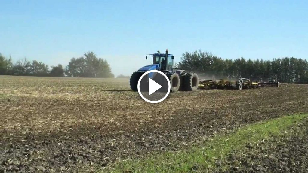 Video New Holland TJ 380