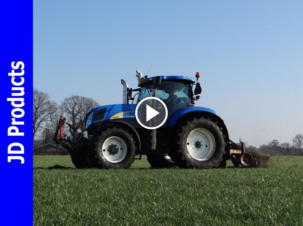 Video New Holland T 6050 Gen2