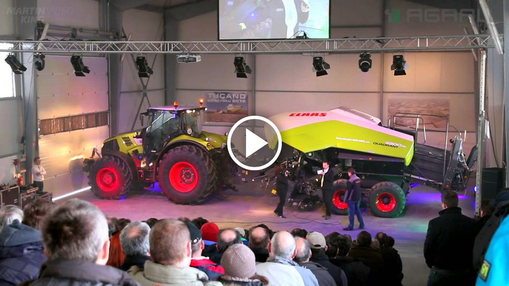 Video Claas Tucano 570