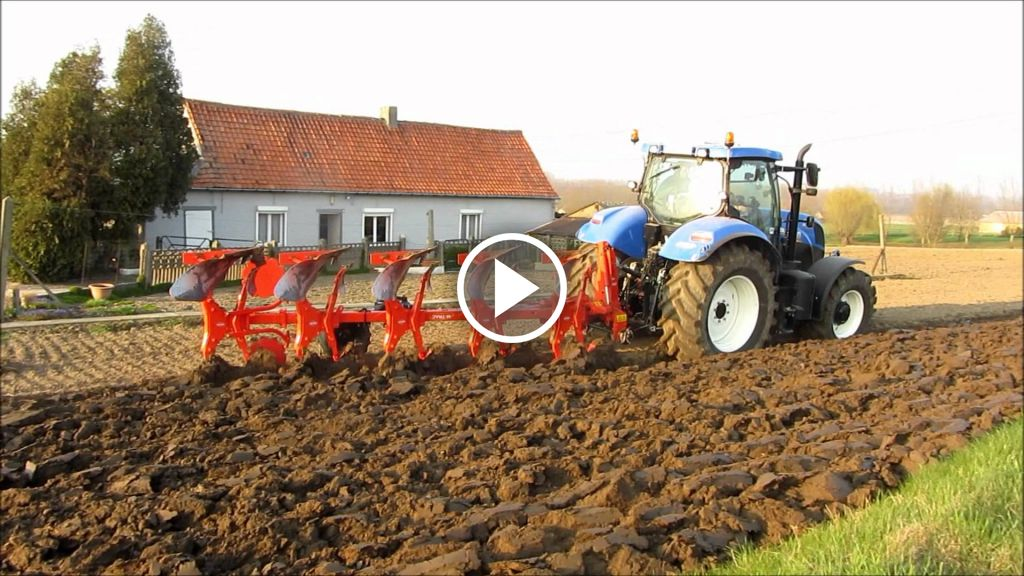 Video New Holland T 7.185