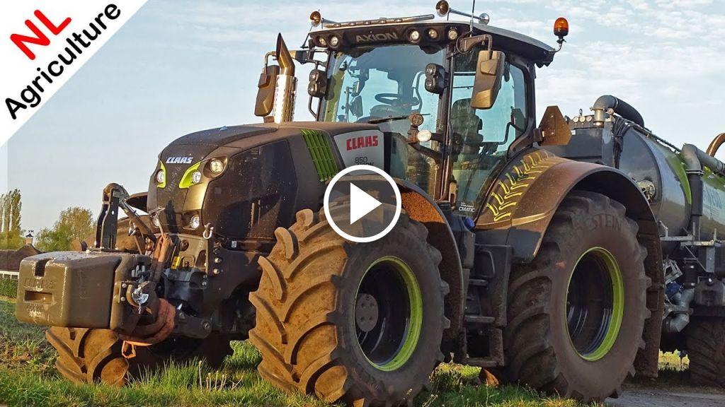 Video Claas Axion 850