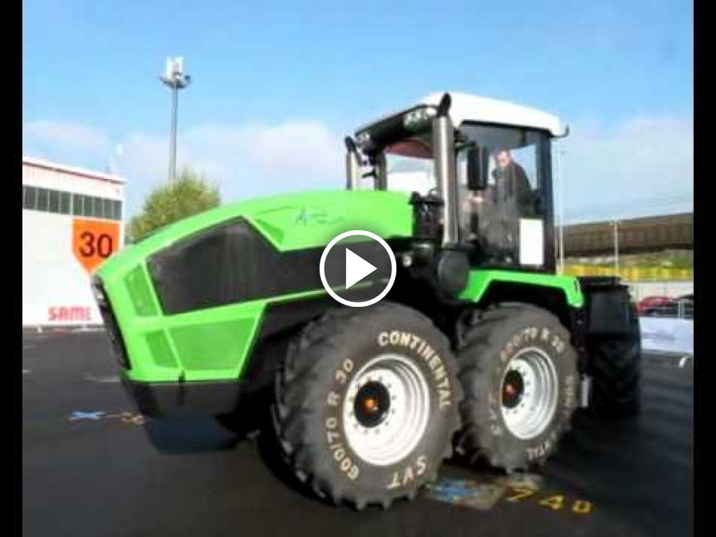 Video Deutz-Fahr Agro XXL 1630