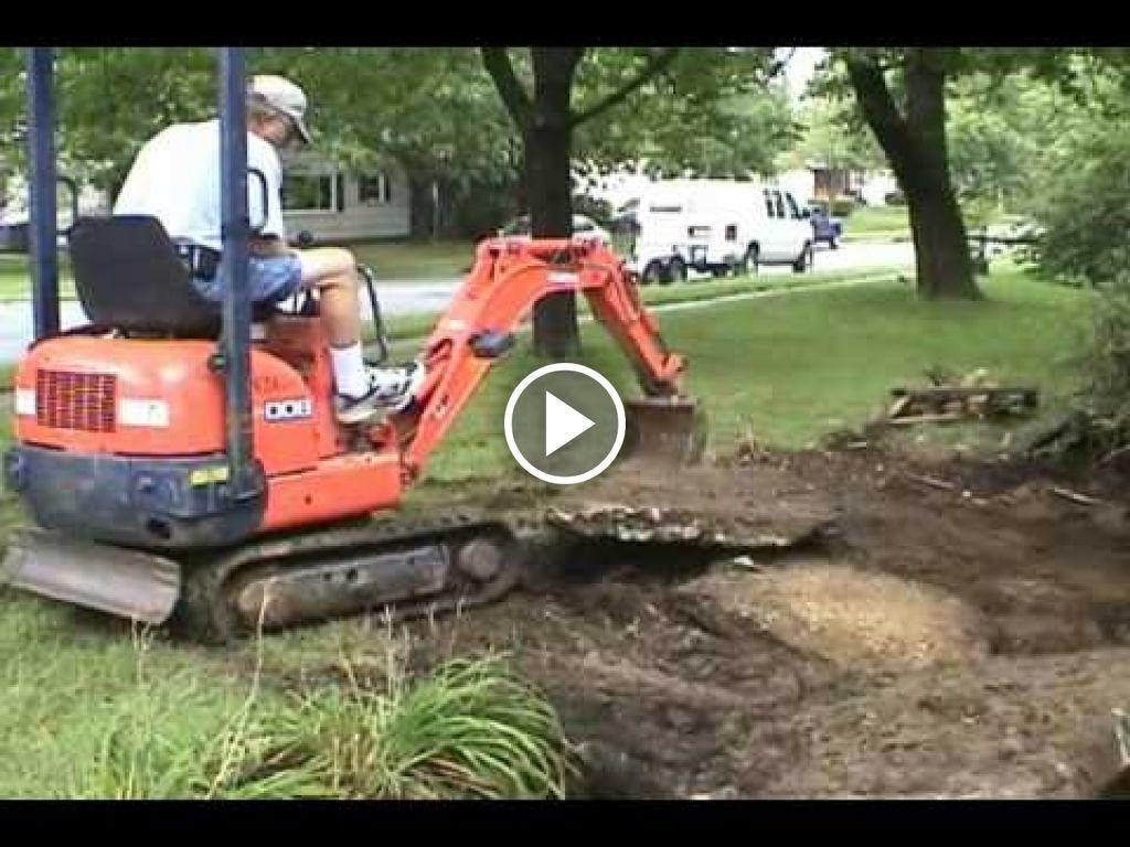 Video Kubota Minigraver