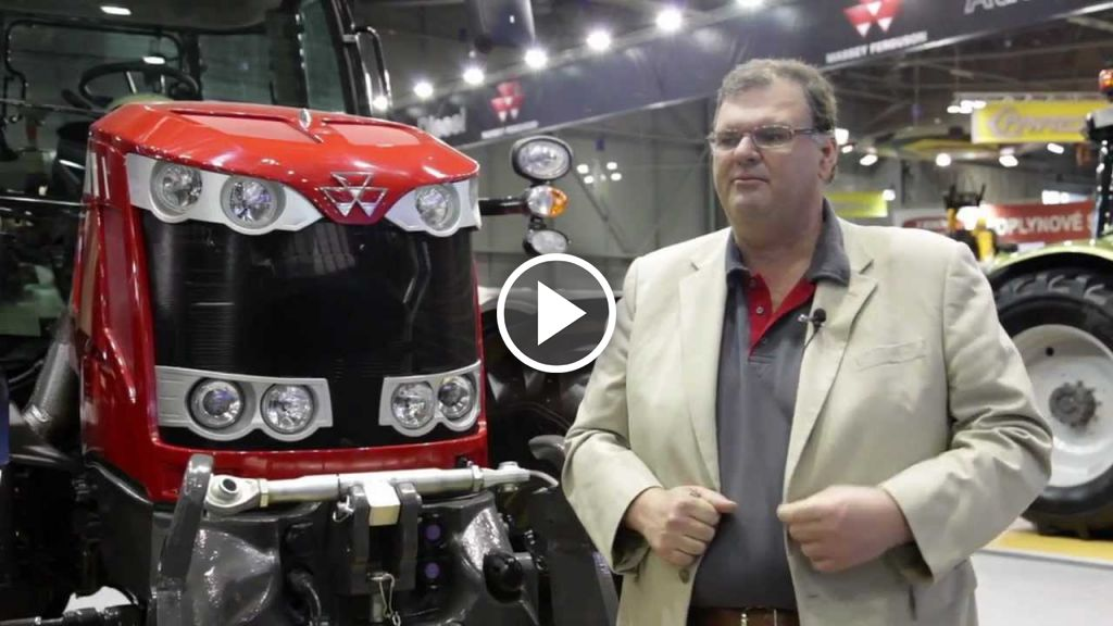 Vidéo Massey Ferguson 7600 serie
