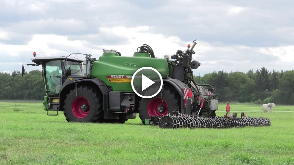 Video Fendt RG 600