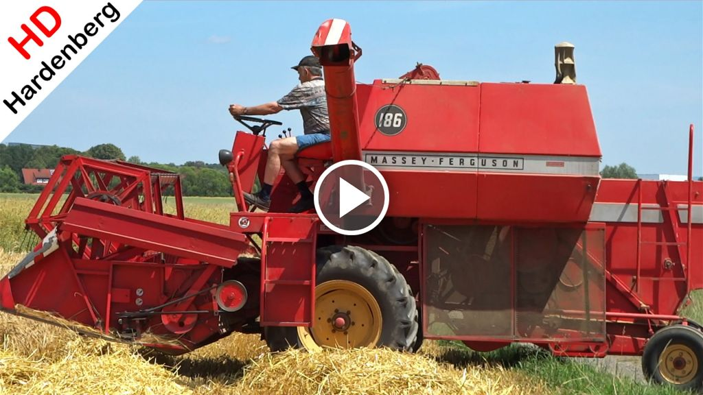 Vidéo Massey Ferguson 186
