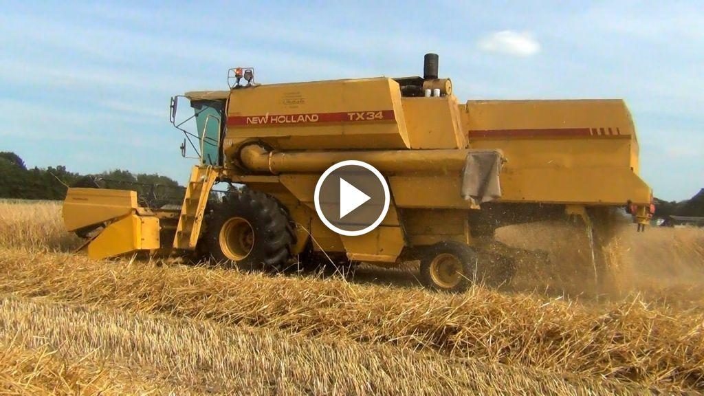 Video New Holland TX 34