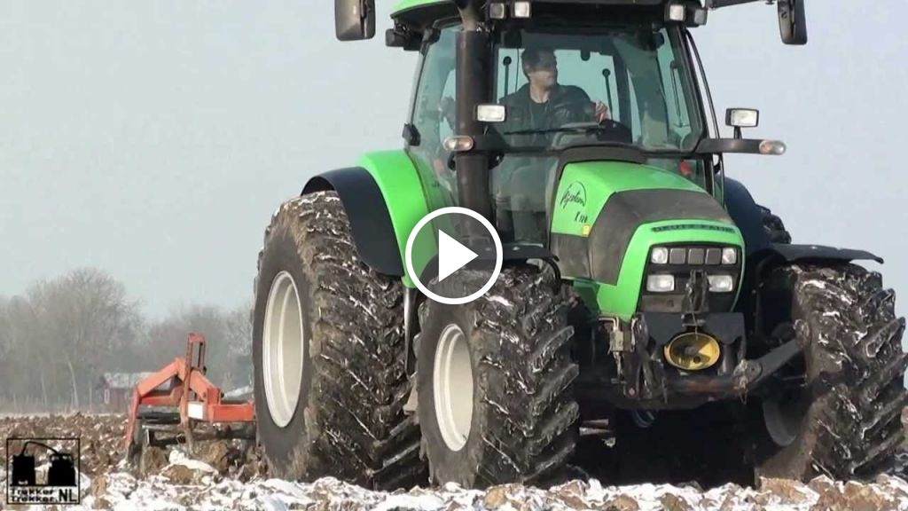 Video Deutz-Fahr Agrotron K 120
