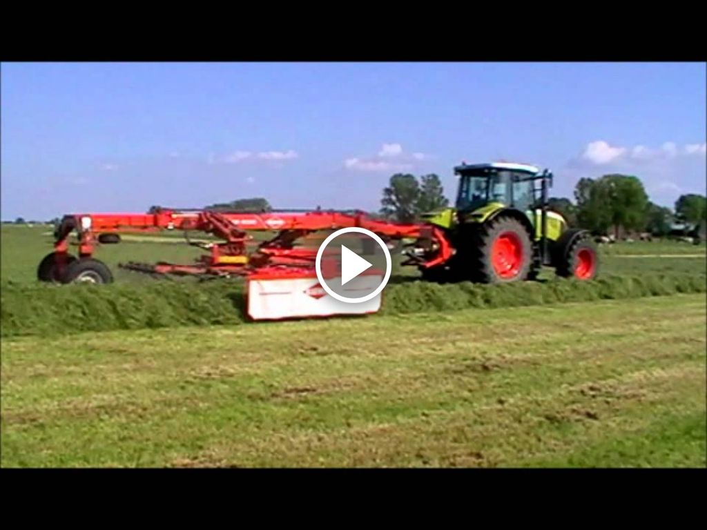 Video Claas Ares 657 ATZ