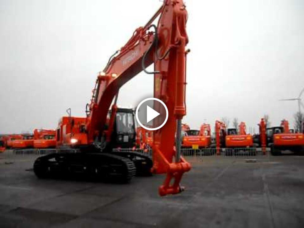Wideo Hitachi Zaxis 470