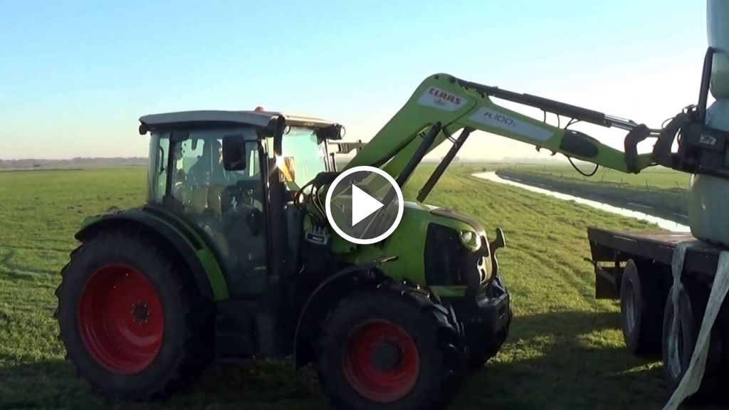 Video Claas Arion 420