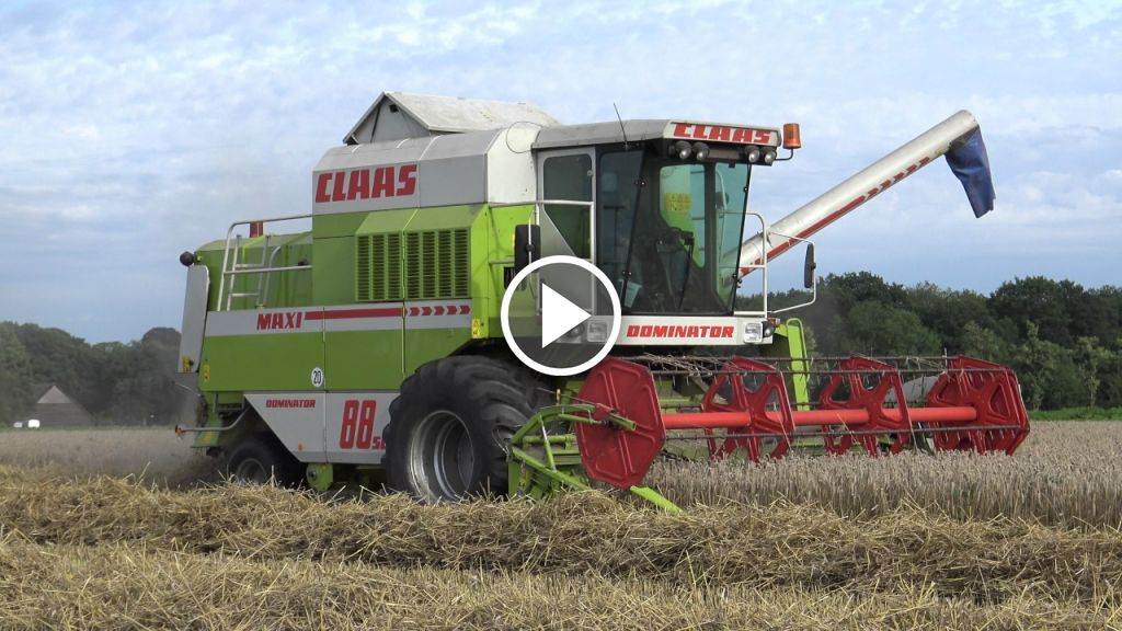 Video Claas Dominator 88SL