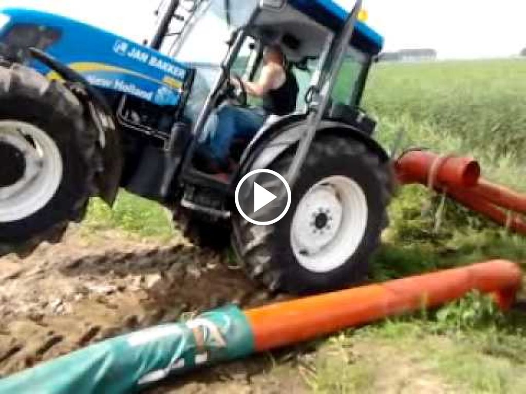 Video New Holland T 4040