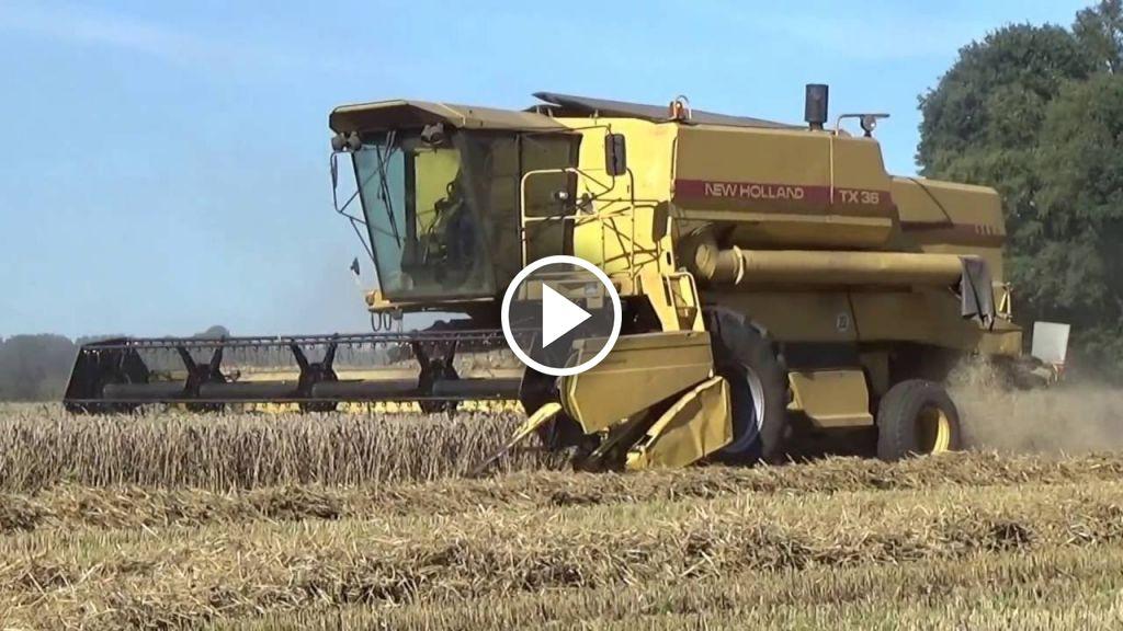 Video New Holland TX 36
