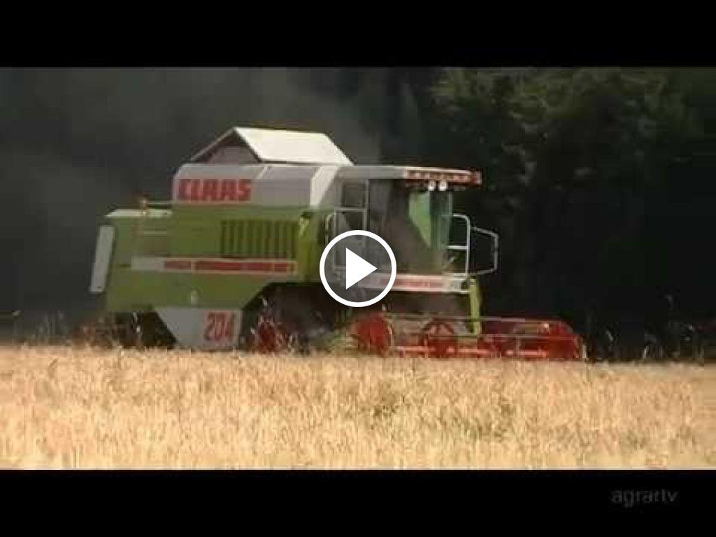 Video Claas Mega 204