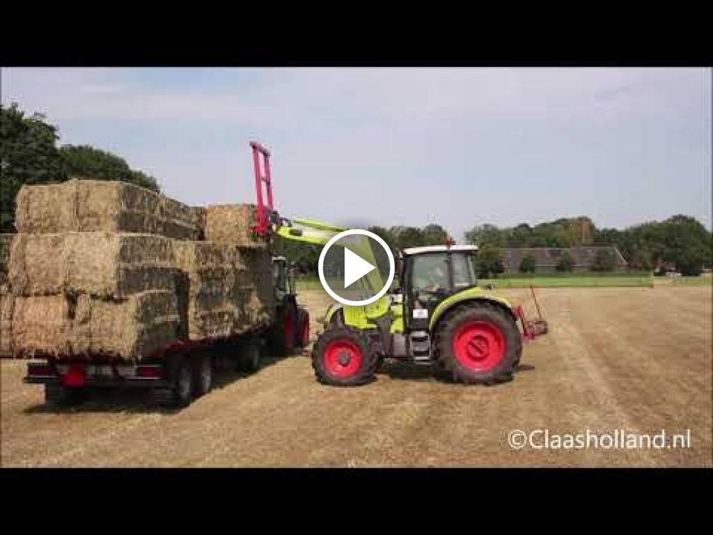 Video Claas Arion 630