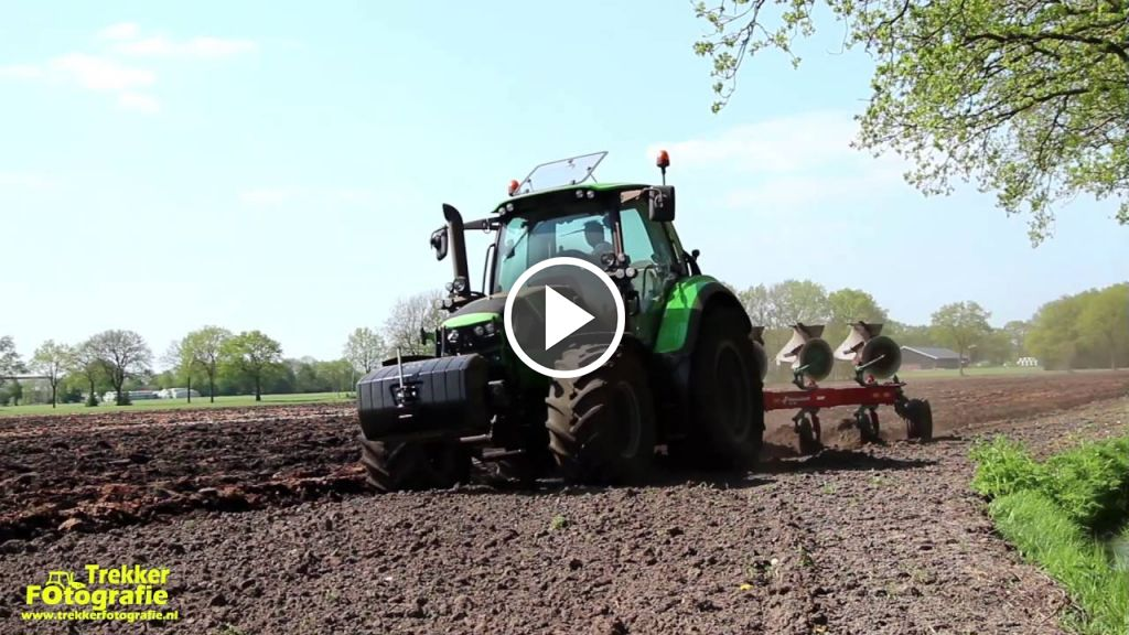 Video Deutz-Fahr Agrotron 6140