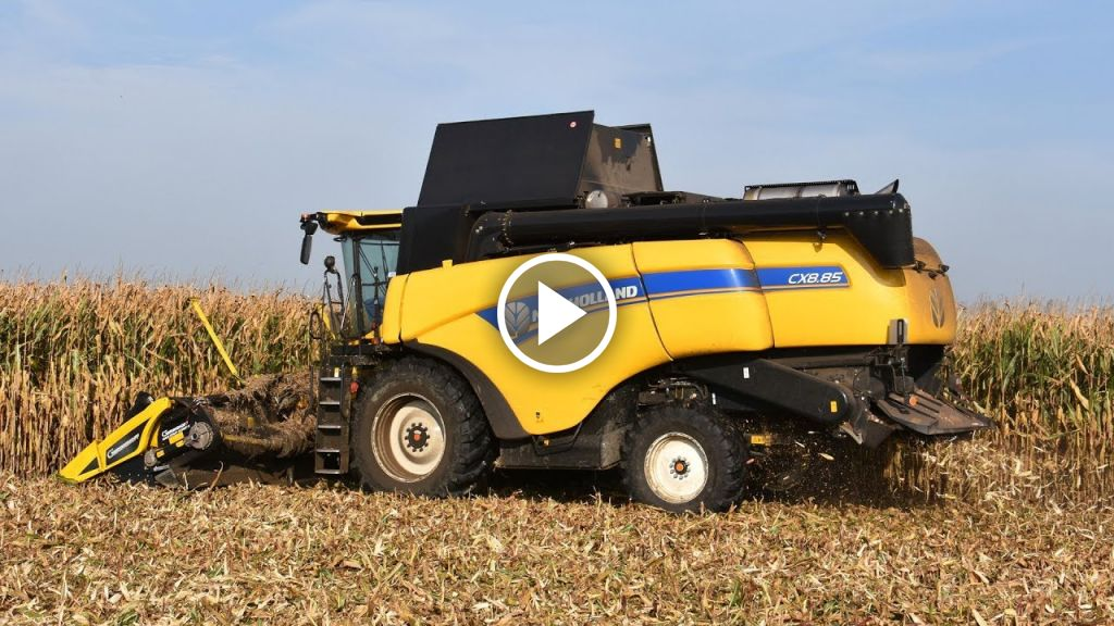 Video New Holland CX 8.85