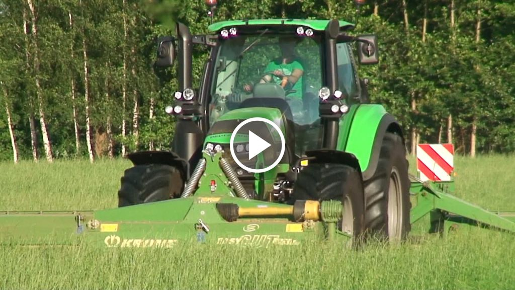 Video Deutz-Fahr Agrotron 6180
