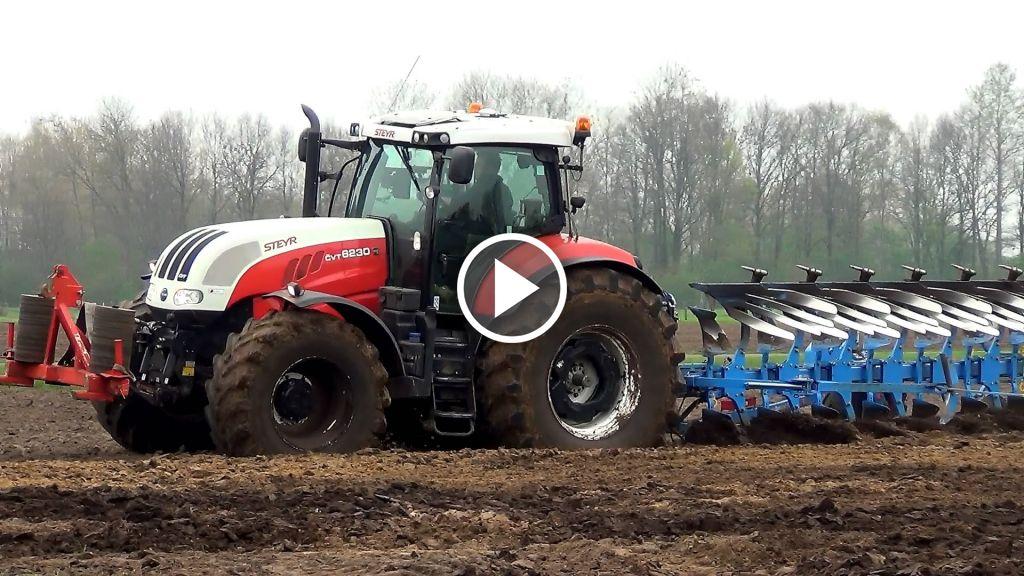 Videó Steyr CVT 6230