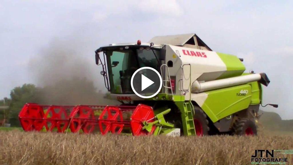 Video Claas Tucano 440