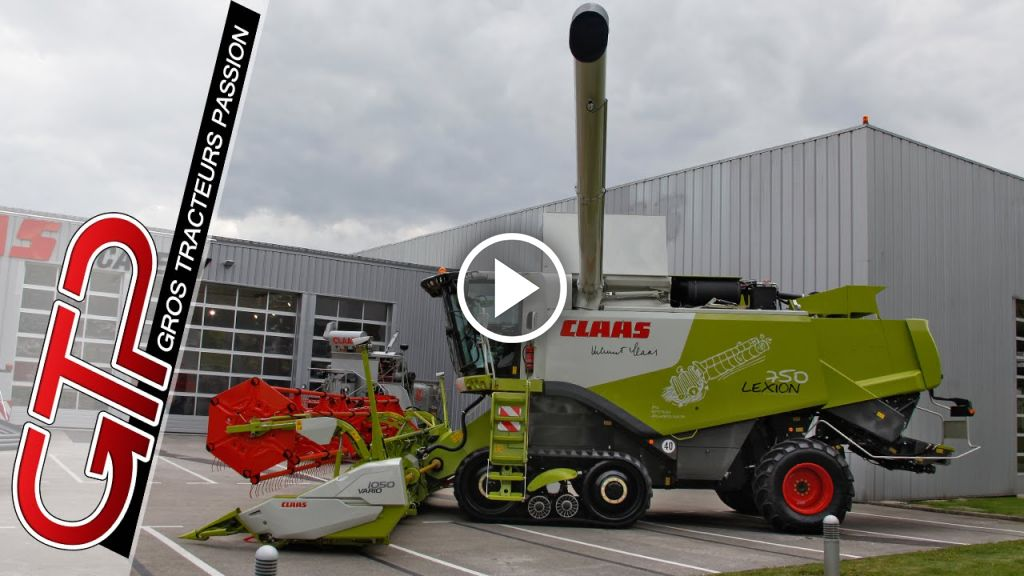 Video Claas Lexion