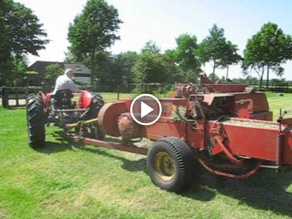 Vidéo Massey Ferguson 35 X Multipower