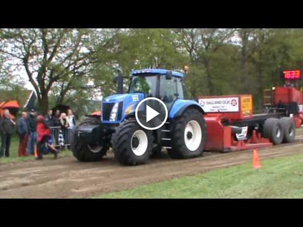 Video New Holland T 8050