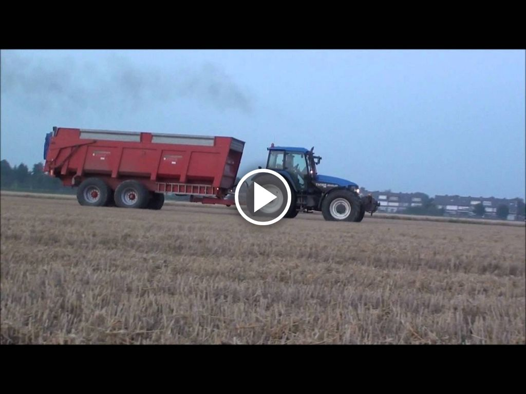 Video New Holland TM 165 Ultra