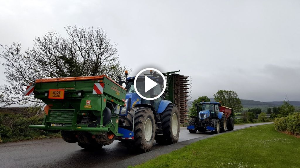 Video New Holland TG
