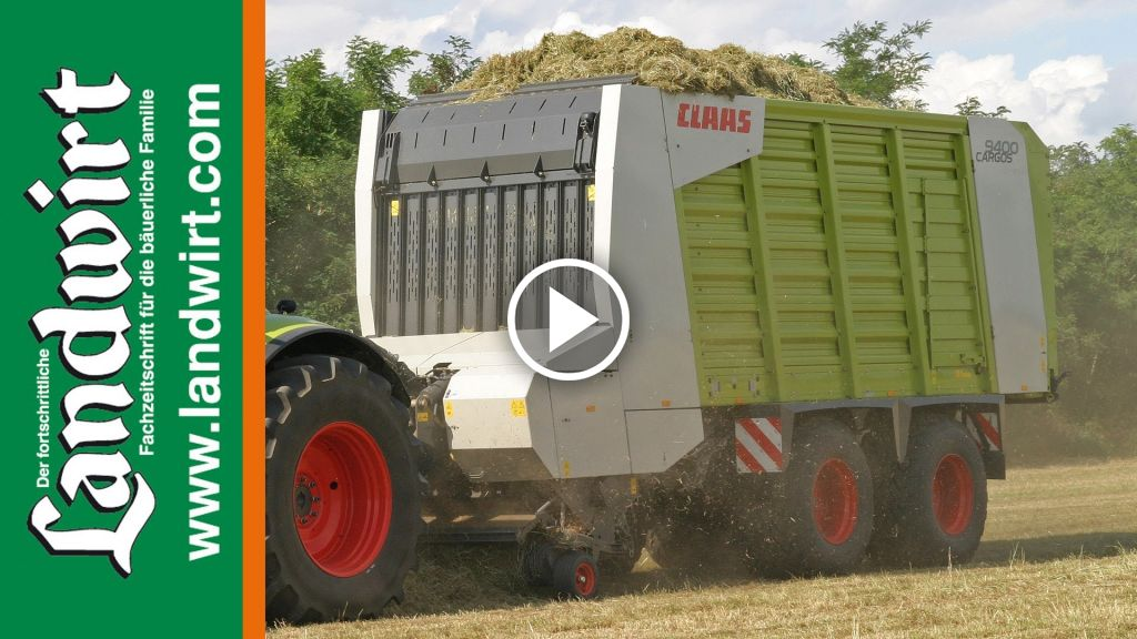 Video Claas Opraapwagen