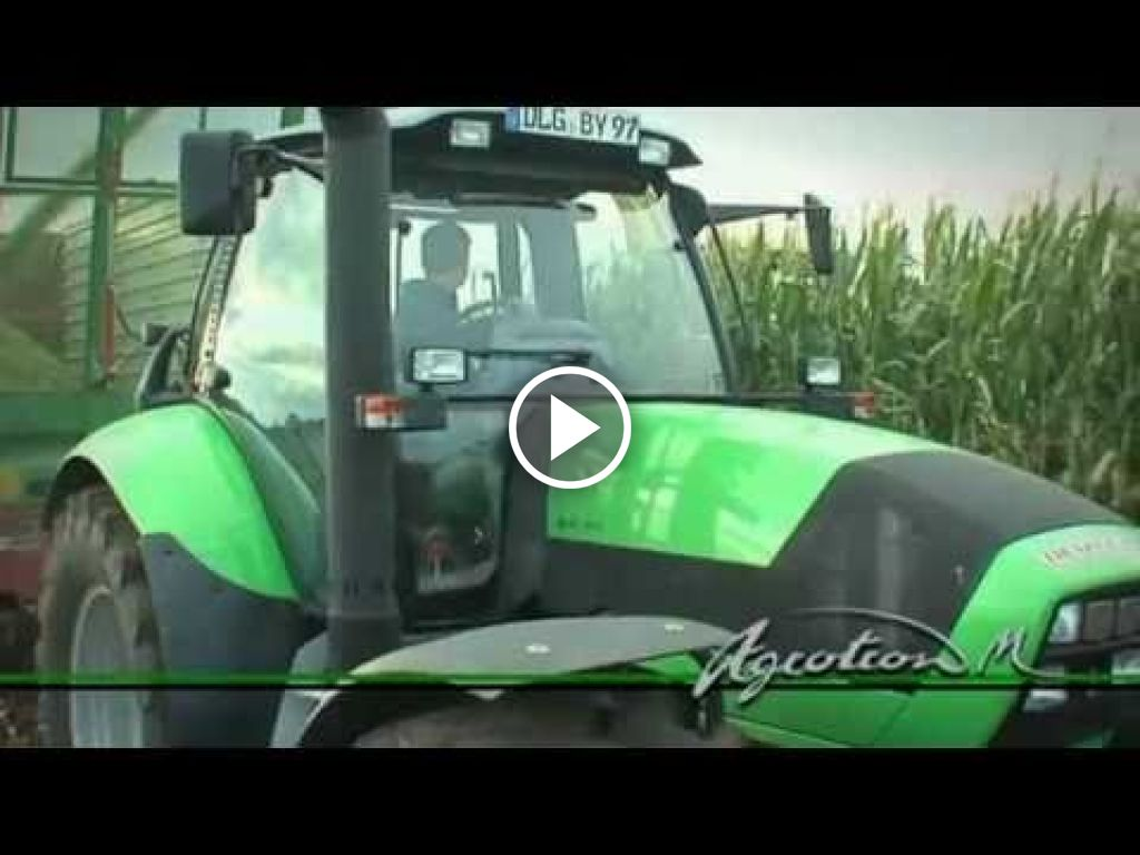 Video Deutz-Fahr Agrotron M
