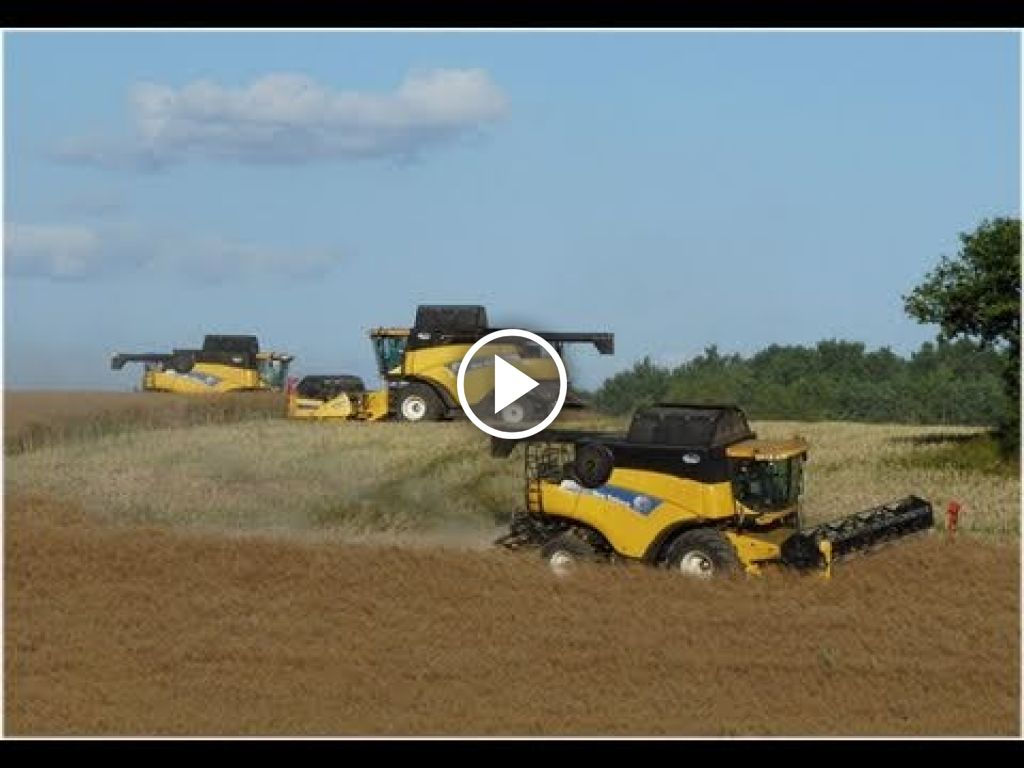 Video New Holland Combine
